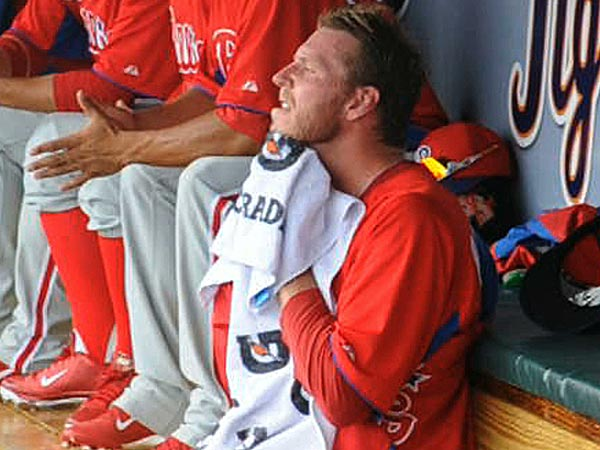 Phillies starting pitcher Roy Halladay. (Clem Murray/Staff Photographer)