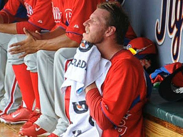 Phillies starting pitcher Roy Halladay. (Clem Murray/Staff Photographer)