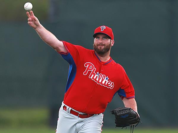 Phillies right-handed pitcher Brad Lincoln. (David Swanson/Staff Photographer)
