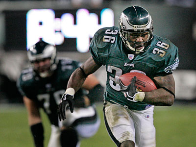 Brian Westbrook might be about to join the Green Bay Packers. (Ron Cortes/ Staff file photo