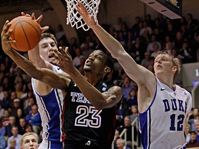 Ramone Moore and Temple had their 8 game winning streak snapped at Duke this week. (Gerry Broome/AP Photo)