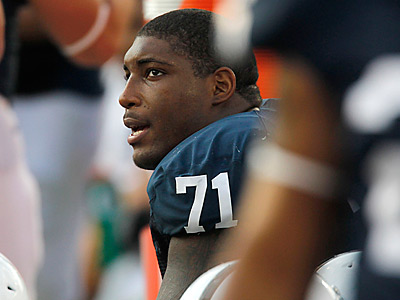 Penn State defensive tackle Devon Still. (AP Photo/Keith Srakocic)