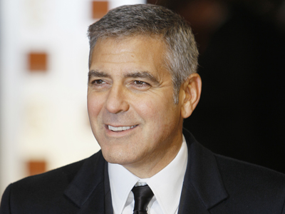 George Clooney is nominated for his role in a film actually set in the here and now. (ALASTAIR GRANT / AP)