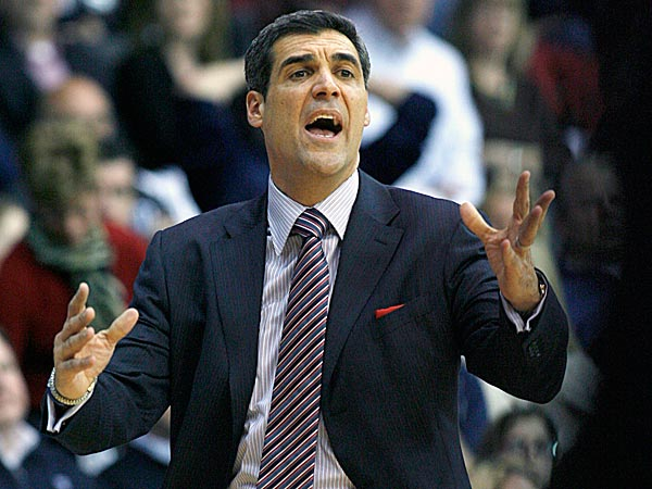 Villanova head coach Jay Wright. (H. Rumph Jr/AP)