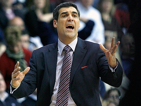Villanova head coach Jay Wright. (H. Rumph Jr/AP)