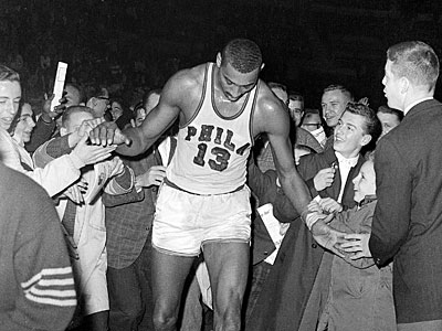 The 50th anniversary of Wilt Chamberlain´s 100-point game on March 2, 1962, is almost here. (Paul Vathis/AP file photo)