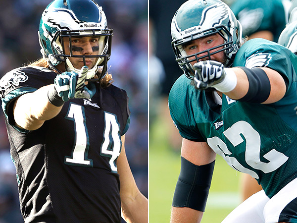 Jason Kelce, Riley Cooper sign new deals with Eagles