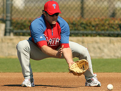 The Phillies did not rule out surgery for Chase Utley. (Yong Kim/Staff Photographer)