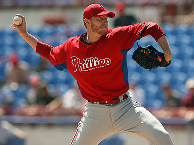 Roy Halladay has long credited sports psychologist Harvey Dorfman with turning him into a top pitcher. (Yong Kim/Staff Photographer)