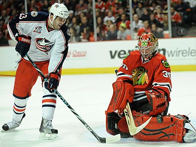 Tom Sestito had two goals in nine games with Columbus. (Paul Beaty/AP)