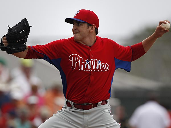 Phillies pitcher John Lannan. (David Maialetti/Staff Photographer)