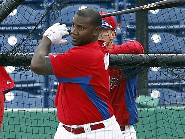 Phillies first baseman Ryan Howard. (Yong Kim/Staff Photographer)