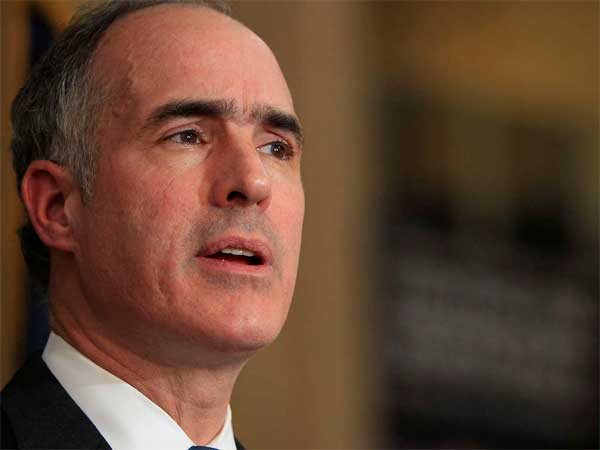 U.S. Sen. Bob Casey, D-Pennsylvania. (David Maialetti / Staff Photographer)