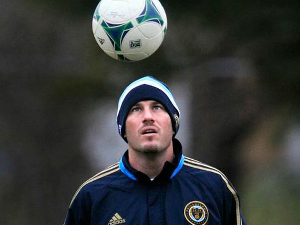 Conor Casey took a significant pay cut when he joined the Union. (Tom Gralish/Staff file photo)