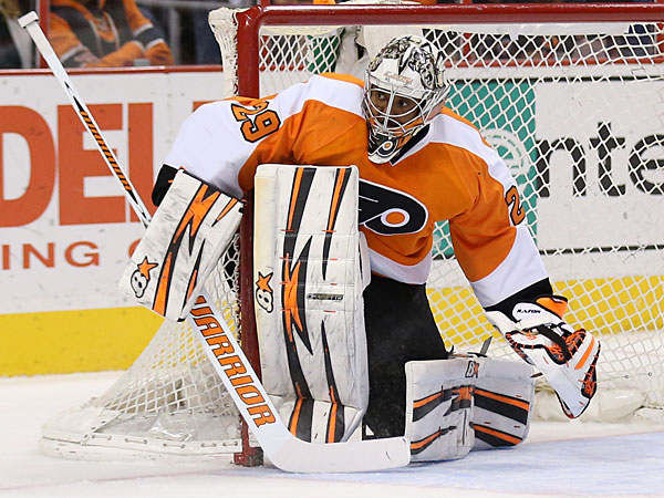 Flyers goalie Ray Emery. (Yong Kim/Staff Photographer)
