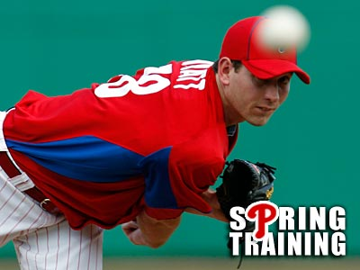 Phillies prospect Austin Hyatt pitched two scoreless innings against Florida State. (Yong Kim/Staff Photographer)