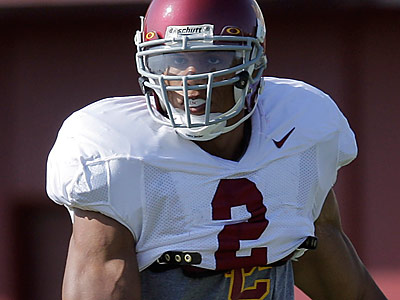 USC safety Taylor Mays could be available to the Eagles when they make their first-round draft pick. (Jae C. Hong/AP file photo)