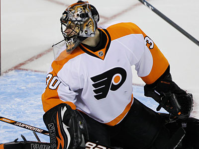 Ilya Bryzgalov will make his sixth straight start for the Flyers in Thursday´s game. (Paul Sakuma/AP Photo)