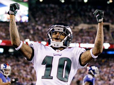 DeSean Jackson signed a multi-year deal with the Eagles, the team announced. (Julio Cortez/AP)