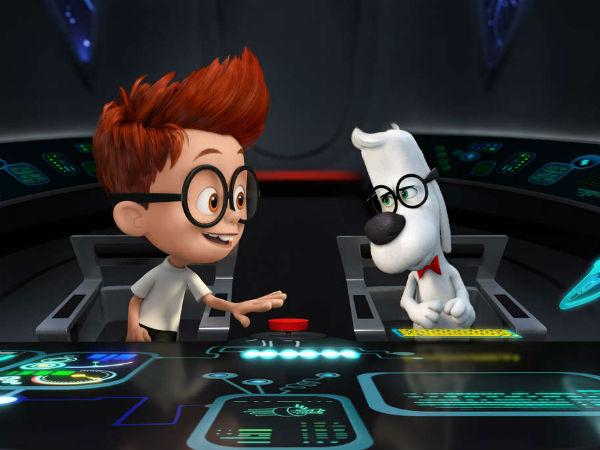 Mr. Peabody and Sherman.