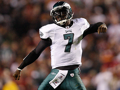 I rank Michael Vick seventh among NFL quarterbacks. (David Maialetti/Staff file photo)