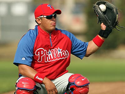 Carlos Ruiz returned to Panama for the birth of his second child. (Yong Kim/Staff Photographer)