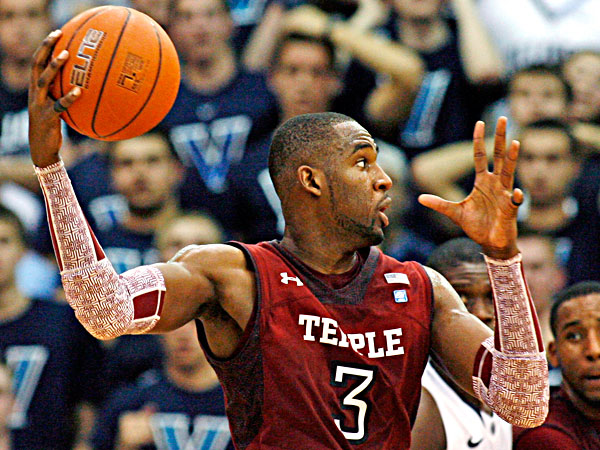 Temple´s Anthony Lee did not play Saturday against Rhode Island. (H. Rumph Jr/AP file)
