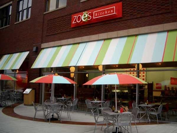 Zoës Kitchen plans 4 suburban spots