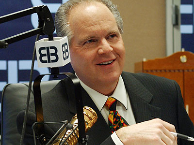 Radio host Rush Limbaugh has spent the last few days sparring with GOP leaders over whose ideology should guide the party. (File photo)