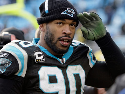 Julius Peppers got a six-year, $79.8 million deal from Chicago, with $42 million guaranteed. (Rick Havner/AP file photo)