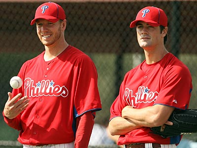 Roy Halladay and Cole Hamels are just two pieces in a dangerous Phillies´ rotation. (Yong Kim/Staff Photographer)