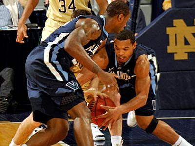 Villanova is not guaranteed a Big East tournament bye even if they upset Pittsburgh Saturday. (Joe Raymond/AP)
