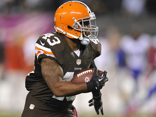 Cleveland Browns safety T.J.Ward. (David Richard/AP file photo)
