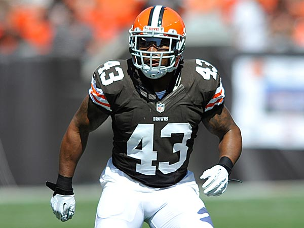 Browns pro bowl strong safety t j ward is scheduled to hit the open