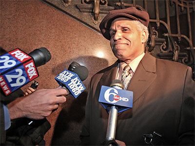 Former Philadelphia Mayor John Street was especially critical of Mayor Michael Nutter´s budget proposal, saying a soda tax would hurt the city´s poor the most. (File photo: Steven M. Falk / Staff Photographer)