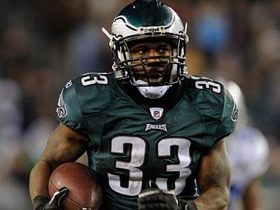 Jerome Harrison´s future with the Eagles is uncertain. (Michael Perez/AP file photo)