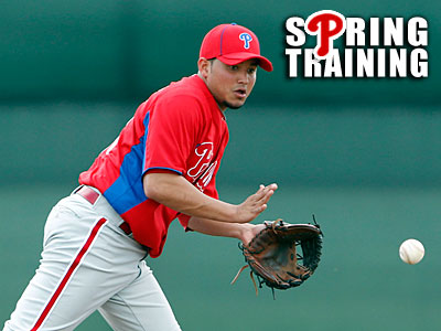Phillies prospect Freddy Galvis has a real shot at making the opening day roster. (Yong Kim/Staff Photographer)