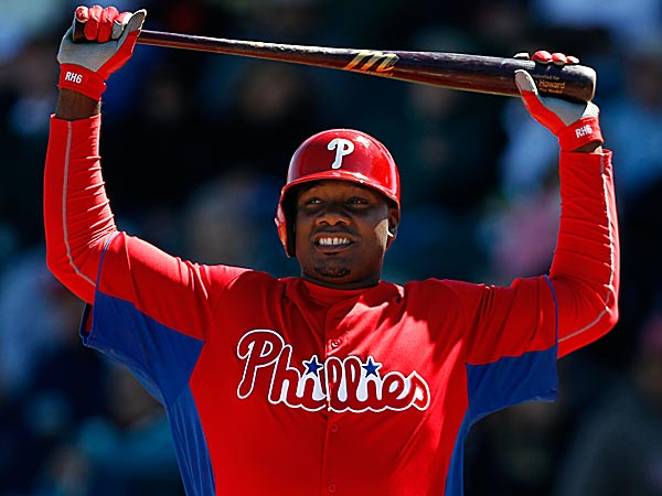Ryan Howard, off to a roaring start this spring, answers the most pressing topics, lighthearted and serious. (David Maialetti/Staff Photographer)