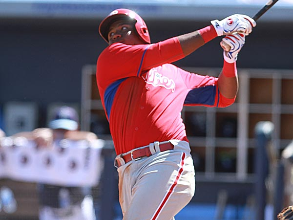 Phillies prospect Maikel Franco. (David Swanson/Staff Photographer)