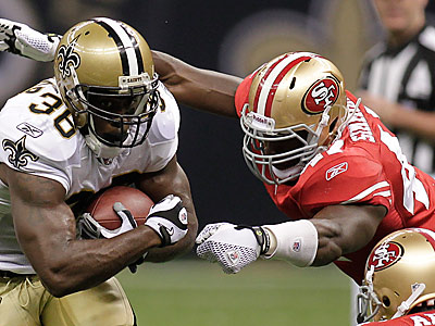 The Eagles have signed linebacker Monte Simmons off the Niners practice squad. (AP Photo/Bill Haber)
