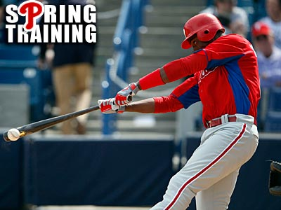 Phillies outfielder John Mayberry Jr. is hitting .191 this spring. (Yong Kim/Staff Photographer)