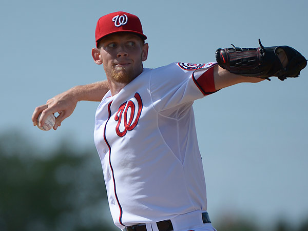 Washington Nationals ace pitcher Stephen Strasburg. (Phelan M. Ebenhack/AP)