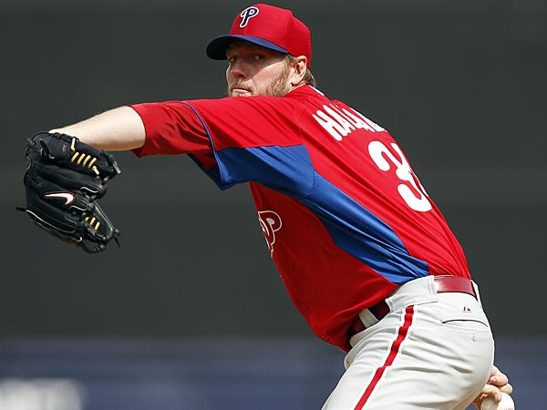 Phillies starting pitcher Roy Halladay. (David Maialetti/Staff Photographer)