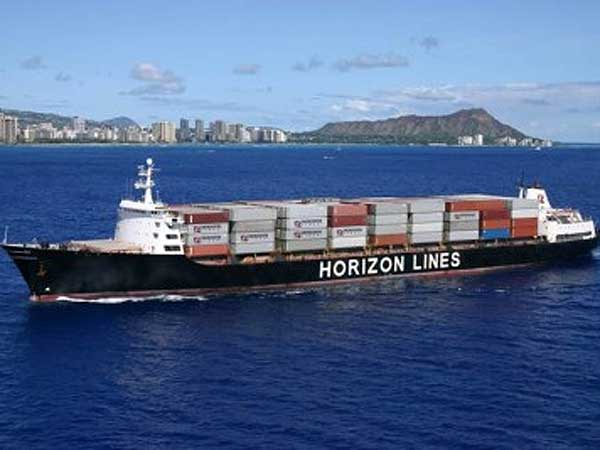 A ship owned by Horizon Lines. (Photo from arm.gov)