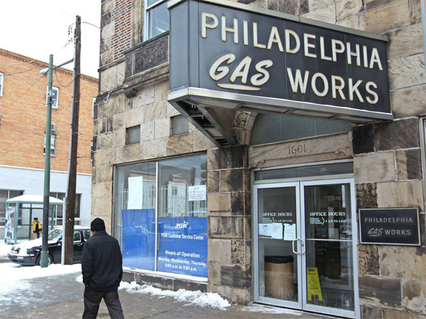 Philadelphia Gas Works office at 1601 S. Broad St. The company is to be sold for $1.86B to a Conn. energy firm. (Michael Bryant / Staff Photographer)