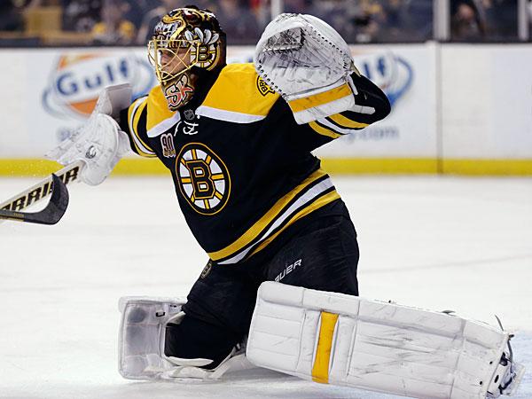 Bruins goalie Tuukka Rask (Charles Krupa/AP)