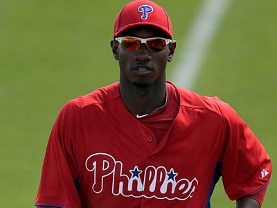 Domonic Brown is not the first Phillies player to be hindered by a hamate injury. (Yong Kim/Staff Photographer)