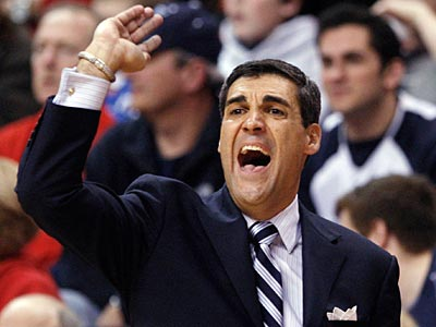 Jay Wright begins play in the Big East Tournament against South Florida in the first round. (Mel Evans/AP file photo)