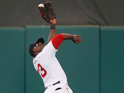 Will the Phillies target Red Sox outfielder Mike Cameron with Domonic Brown out 4-6 weeks? (Charles Krupa/AP)