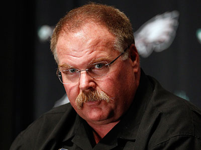 Andy Reid wanted more control over personnel matters this offseason, according to a report. (David Maialetti/Staff Photographer)